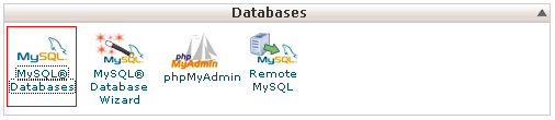 MySQL – User – Database – Cpanel
