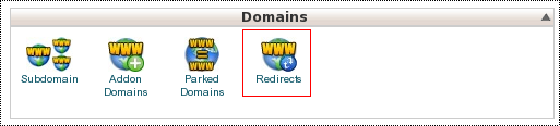 Redirect domain dan subdomain