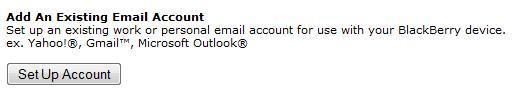 Kolom Setup Email