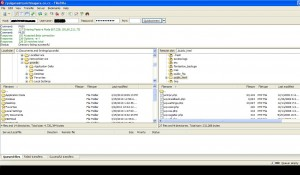 Upload Menggunakan Filezilla + Cara Setting Limitnya