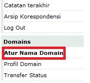 Mengarahkan DNS / Mengganti Name Server Domain di Qwords