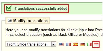 Tips Prestashop - Konfigurasi Bahasa