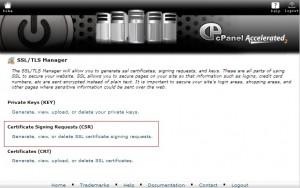 Membuat Certificate Signing Request (CSR) untuk SSL
