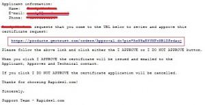 Membuat Certificate Signing Request