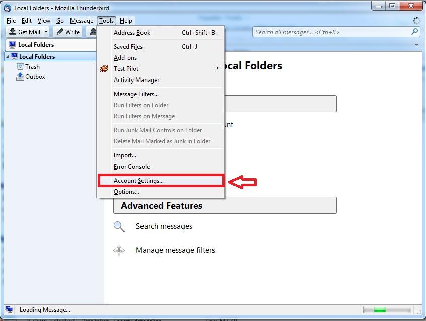 Setting Email Client Menggunakan Thunderbird 9