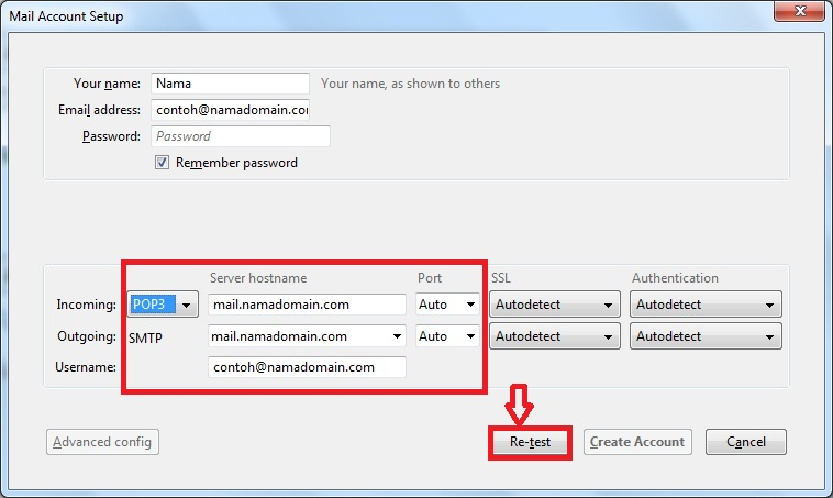 Setting Email Client