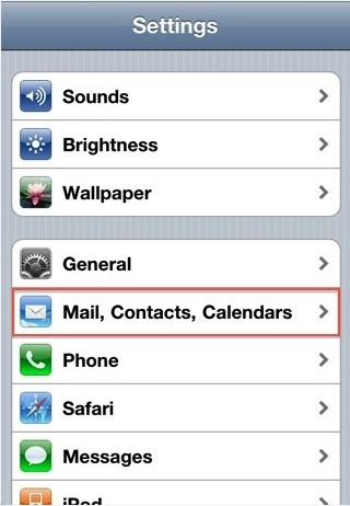 Memasang Akun Email hosting di Iphone/Ipad