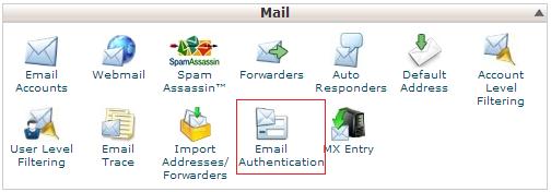 1 - Mengaktifkan fitur DKIM dan SPF email di cPanel