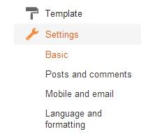 a - Cara Pasang Blogspot Dengan Domain Sendiri