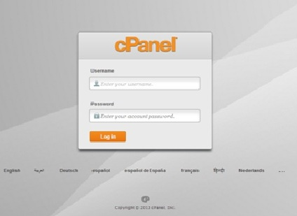 File 1 - Merubah Password cPanel