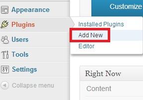 addnewplugin - Cara install dan uninstall plugin di WordPress