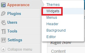 klikwidget - Menambah Widget di WordPress