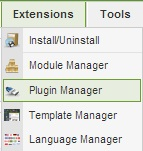 pluginmanager -  Upgrade Joomla 1.5 to 2.5 with Jupgrade FIX