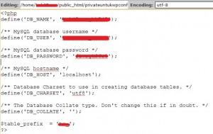 privatewpconfig - Tutorial Wajib Untuk Keamanan WordPress