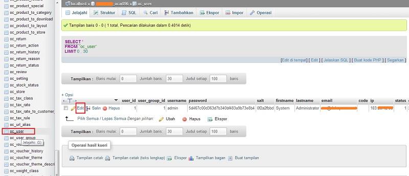 Pic 09_05_2013 (2) - Reset Password Admin OpenCart Melalui phpMyAdmin
