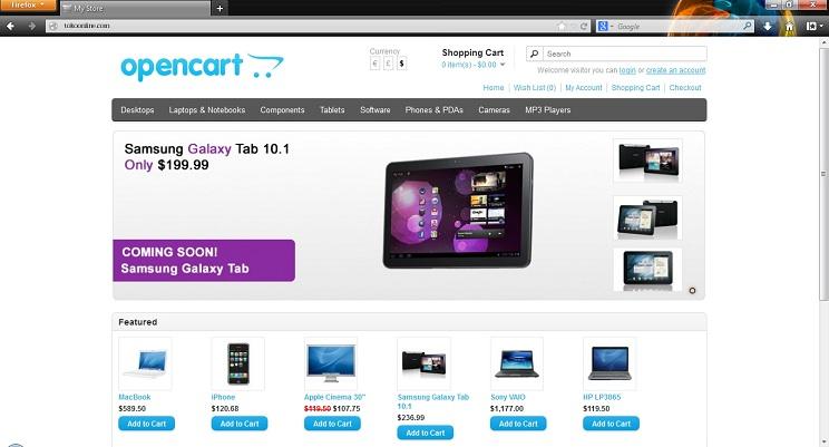 3 - Membuat Toko Online dengan OpenCart