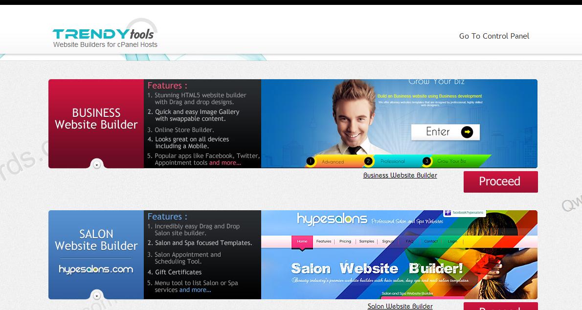 New Site Bulider Qwords 2 - Membuat website HTML5 instan - Koneksi FTP