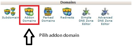 add - addon domain