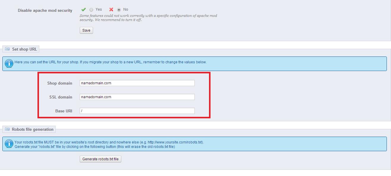 Capture2 - Tutorial memindahkan website prestashop dari satu domain ke domain lainnya dalam satu hosting