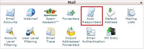 cpanelautoresponders - Membuat Pembalas email Otomatis (Auto Responder) di CPanel