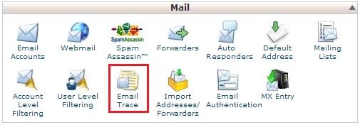 emailtrace - Cara Mengetahui status pengiriman Email di Cpanel
