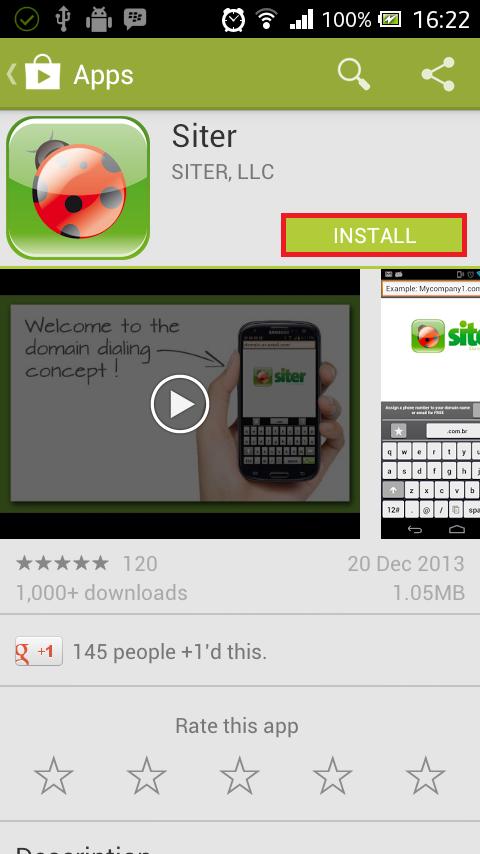 installsiter - Cara menggunakan Siter (Call Domain)