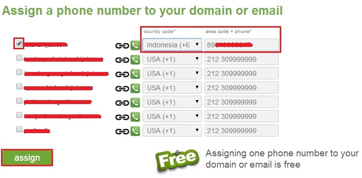 isinomortelpondanassign - Cara menggunakan Siter (Call Domain)
