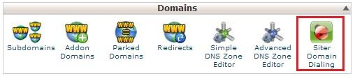 siter - Cara menggunakan Siter (Call Domain)