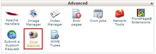 virusscanner - Bersihkan Virus di Website anda dengan Virus Scanner CPanel