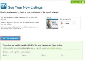 verifysubmissionattracta - Mengoptimasi SEO website dengan SEO Tools Attracta