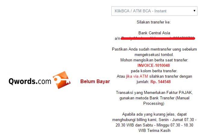 fakturtagihan - Pembayaran Hosting/Domain Cepat dan Mudah di Qwords.com