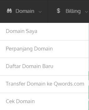 perpanjangdomain -  Pembayaran Hosting/Domain Cepat dan Mudah di Qwords.com