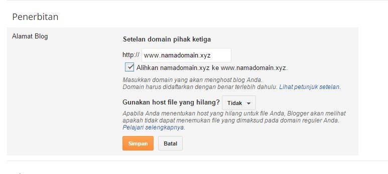 Custom Domain sendiri Qwords Portal 8