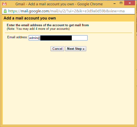 Tutorial SMTP Gmail 3