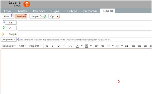 form-kirim-email