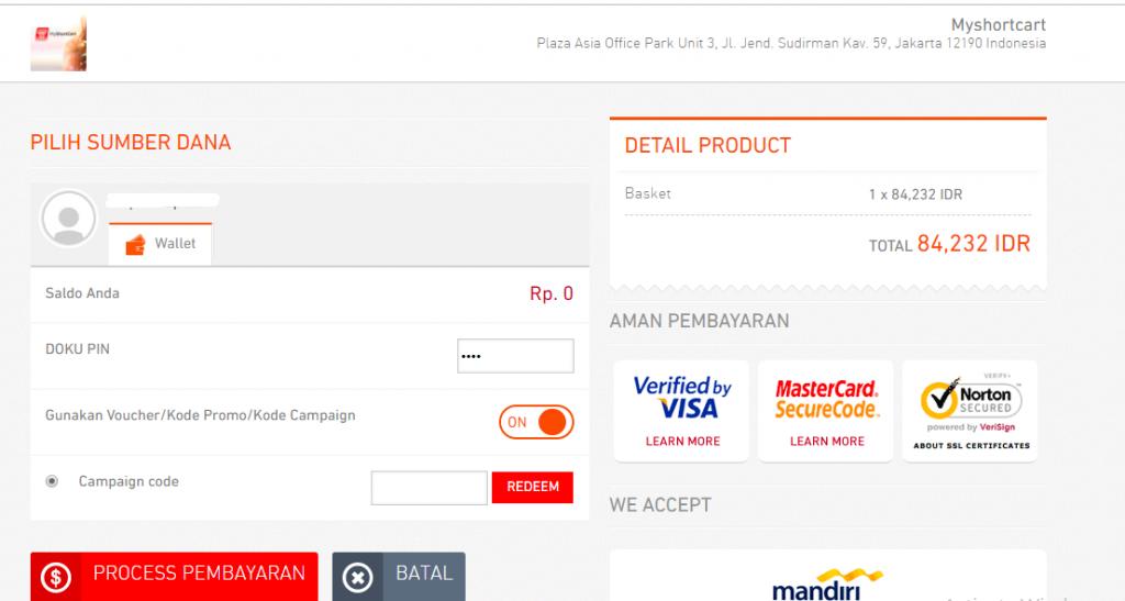 Panduan Bayar Menggunakan DOKU Wallet | Qwords com Manual Knowledge Base