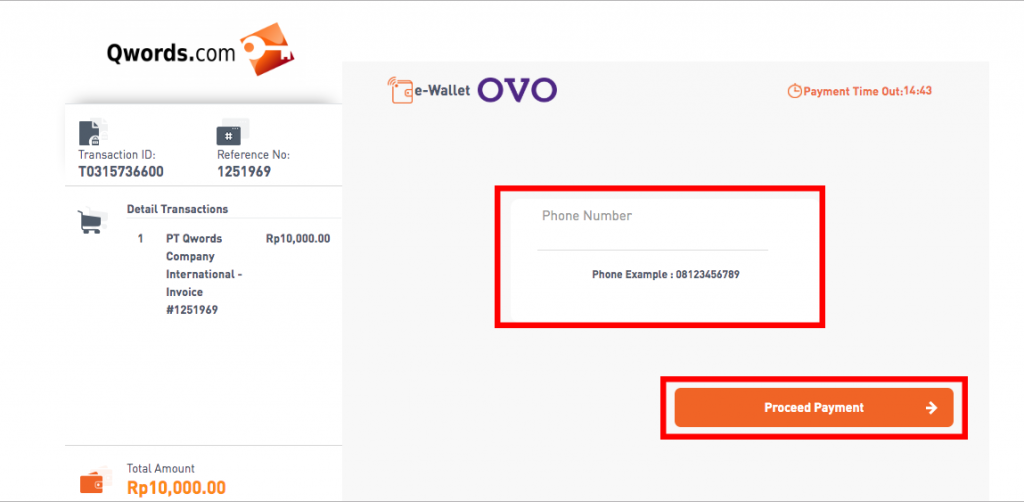 Panduan Bayar Dengan OVO | Qwords com Manual Knowledge Base