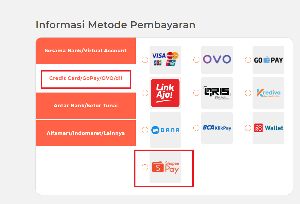Panduan Bayar via Shopee Pay - Qwords.com Manual Knowledge ...