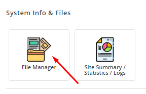 file manager directadmin