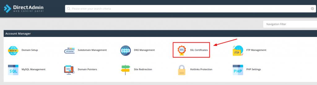 SSL Sertificates